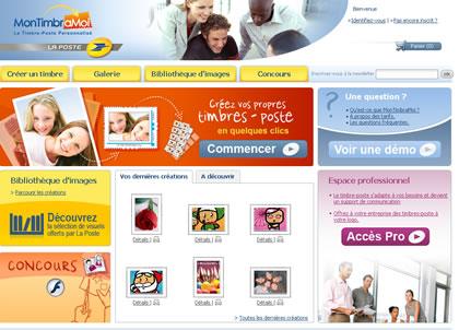 Timbre personnalisé : Mon timbre à moi La Poste