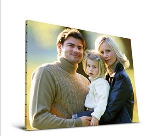 impression de photo sur tableau tableau lumineux p le m le le chasseur de cadeaux de no l. Black Bedroom Furniture Sets. Home Design Ideas