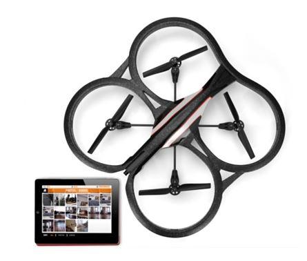 Le drone de chez Parrot piloté depuis son Ipad