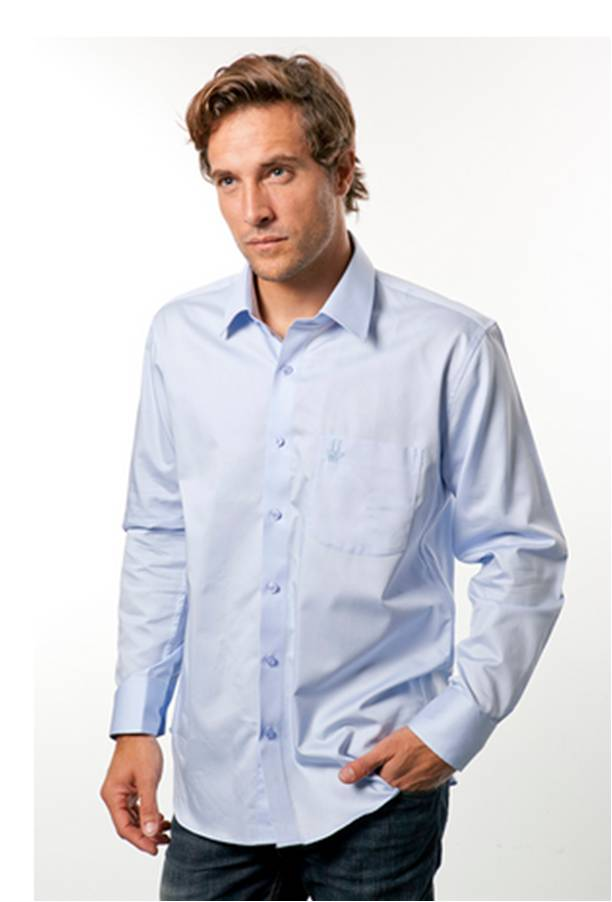 Chemise business pour homme - Coupe droite
