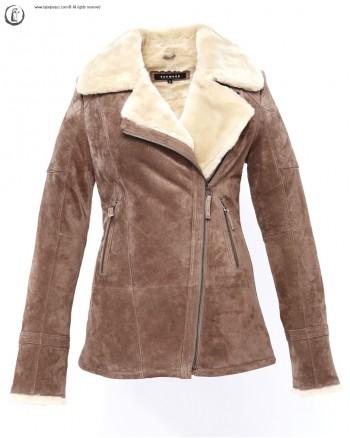 La veste en cuir velours Oakwood : un cadeau pour l'hiver