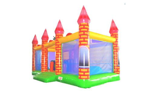 château structure gonflable